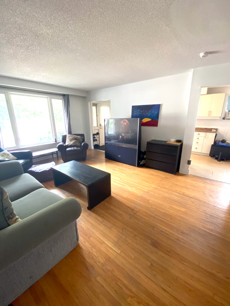 12 Lonsdale Place - Upper, Living Room