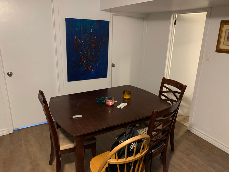 260 Cook Street – Lower, Dining Area