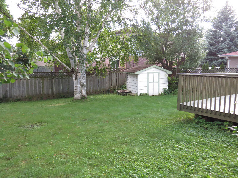 3 West Gate – Upper, Backyard