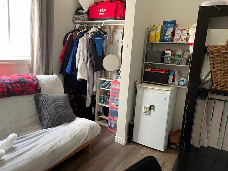 282 Cook Street – Upper, Bedroom